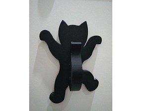Hanging kitten hook 3D print model