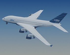 3D JetBlue Airlines Airbus A380