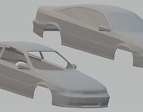 Opel Calibra Printable Body Car