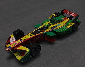 3D model Formula E Audi Sport ABT