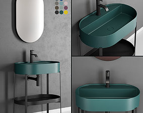 3D model Nic Design Consolle Oval Washbasin