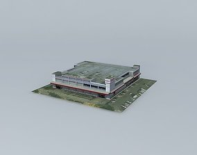 Costco in Kaohsiung, Taiwan 3D model