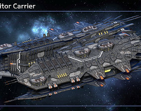 Spaceship Progenitor Carrier 3D model