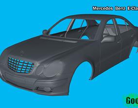 Mercedes Benz E-Class Sedan 3D printable model