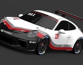 Porsche Carrera Cup 2018 3D model