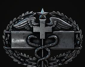 3D asset Combat Medical Badge