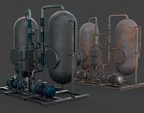 Industrial device 3D asset