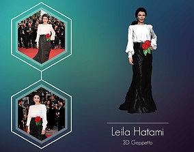 Leila Hatami 3D Model ready for 3d print