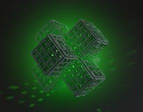 Sci-Fi Shapes Vixius The Sign of Vitality 3D model