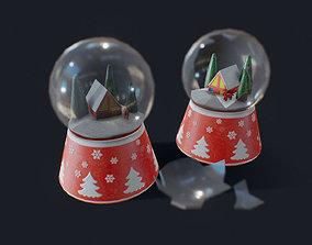 Snow Globe 3D asset