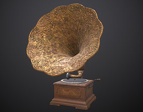 3D asset realtime Gramophone