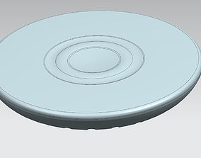 Qi Wireless Charger 3D print model