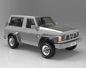 Nissan Patrol GR 3D model