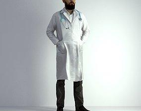 man 3D Scan Man Doctor 020