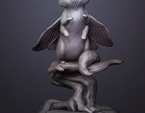 A creature with many paws 3D print model