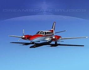 Cessna 404 Titan Courier V01 3D
