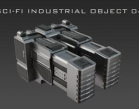3D model Sci-Fi Industrial Object 04