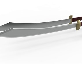 Zuko dual swords from Avatar TV series 3D printable model