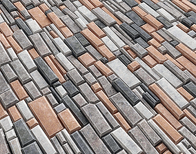 3D Paving brick bevel