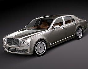 3D uk Bentley Mulsanne