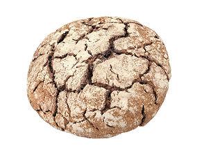 3dscan Photorealistic Einkorn Bread 3D Scan
