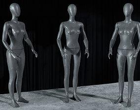 3D model Mannequin - rigged