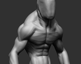 3D Creature Body Form