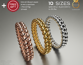 Delicate eternity band luxury style 3D printable model