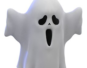 3D model Cartoon Ghost V2