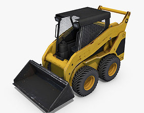 3D model Skid-Steer Loader