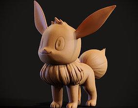 popular Pokemon Eevee 3d print model