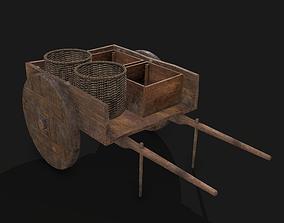 Wheeled Cart 3D model