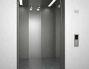 Elevator SJNQ 3D asset