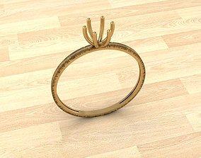 3D printable model Engagement Ring 3