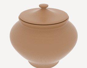 3D model Clay Pot var 3