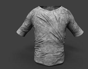 Old Dirty T-Shirt 3D model