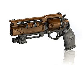 3D print model Fatebringer Legendary Hand Cannon
