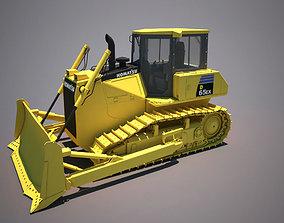 3D bulldozer komatsu 65ex