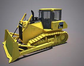 3D model bulldozer komatsu 65ex excavator