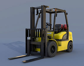 Forklift 18D-7E 3D model