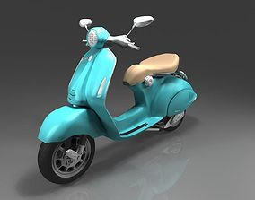 Scooter vespa 3D model