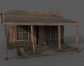 3D asset Old Shack