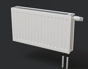Heating radiator 3D model