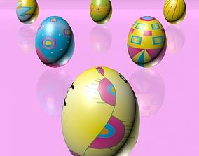Easter Eggs Set 03 3D model