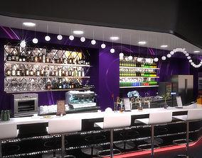 Bar lounge 3Dmodel