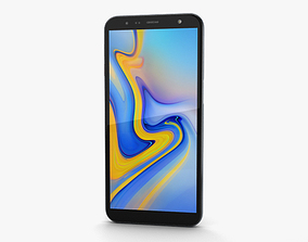 Samsung Galaxy J6 Plus Gray 3D model