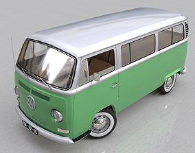 VOLKSWAGEN COMBI TYPE 2 - 1968 3D model