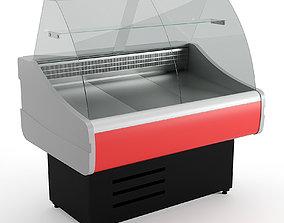 Refrigerator showcase Cryspi 3D model