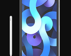 3D Apple Ipad Air 4 2020