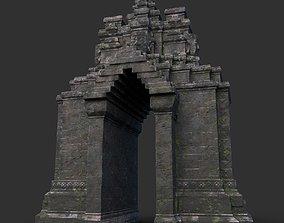 3D model Ruin Ancient Temple - Khmer Architecture B 10